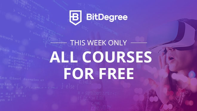 Final Week Start's Now On BitDegree So Hurry Enroll All Course's