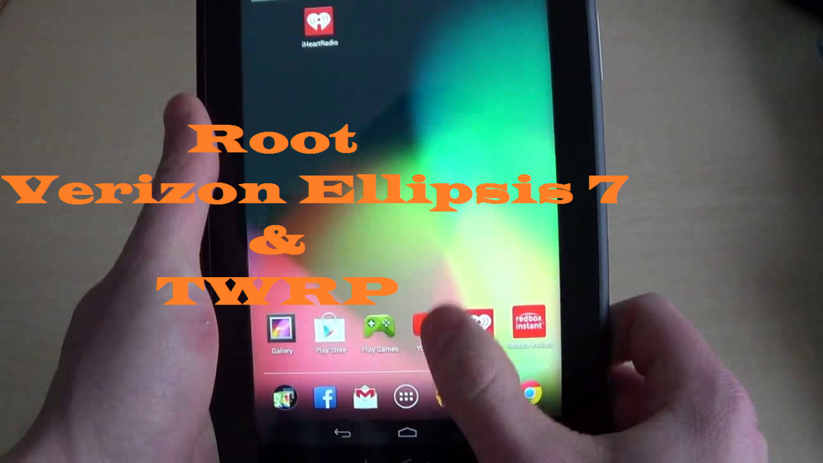 Root Verizon Ellipsis 7 And Install TWRP Custom Recovery