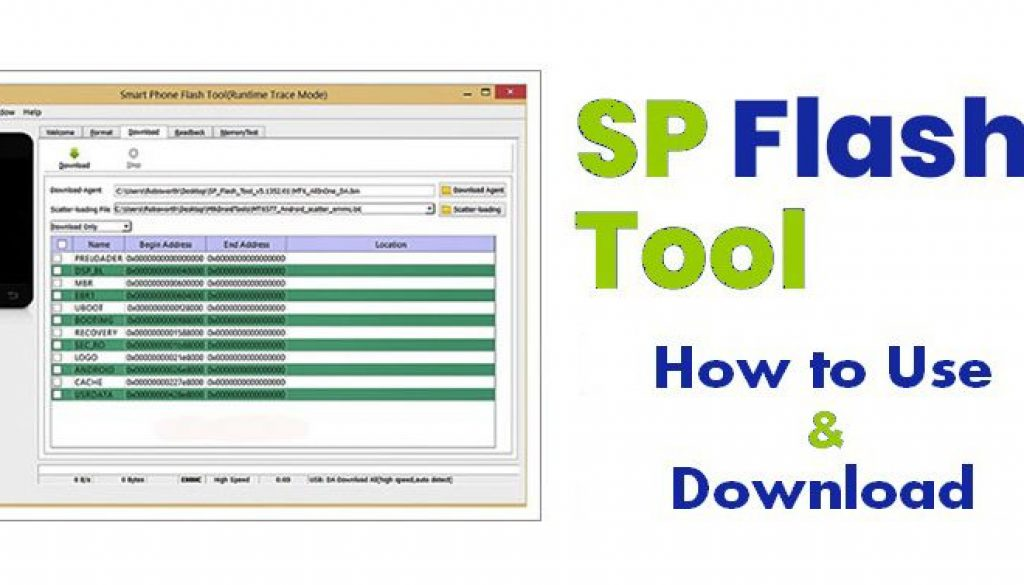 Download And Install SP Flash Tool